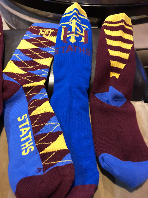 STATHS Socks 3 pk Gift Set - Royal VCUT $30 US