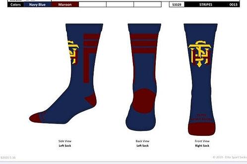 STATHS Socks - Navy Stripe $10 US