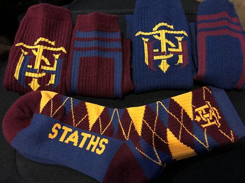 STATHS Socks 3 pk Gift Set - Navy Stripes $30 US