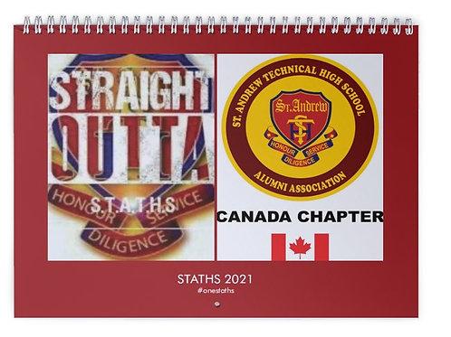 STATHS 2021 Calendar - $20 US