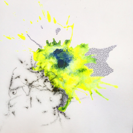 Texture in Motion - Neon Yellow