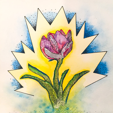 Hello Spring - Bold Tulip