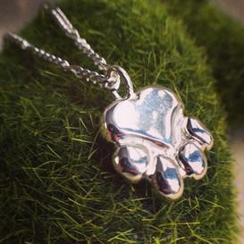 Large sterling pendant