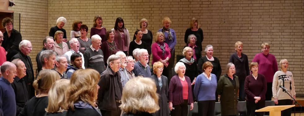 Christmas Concert rehearsal 2012