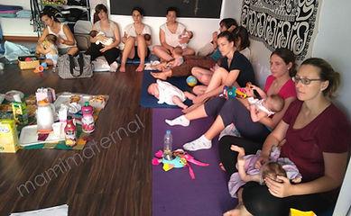 Desayunos y meriendas en Mamimaternal, Grupos de Postparto, Grupos de apoyo, Lactancia y crianza en Las rozas
