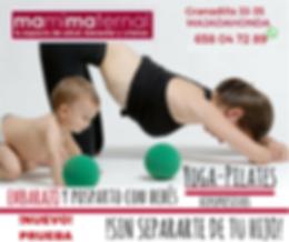 Nueva actividad por las tardes, para conciliar, yoga embarazo con tu hijo/a, sin separarte de tu bebé. Tú te ejercitas, él juega con otros niños En Majadahonda , Las Rozas, Boadilla, Pozuelo, Aravaca