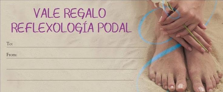 VALE REGALO REFLEXOLOGÍA