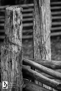 fence and wire
