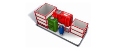 Mobile-recycling-system