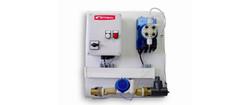 Chlorine-metering-panel