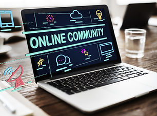 Online Community Connection Sharing Soci
