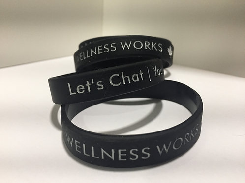 Let's Chat Wrisbands