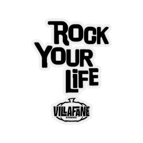 Rock Your Life Kiss-Cut Stickers