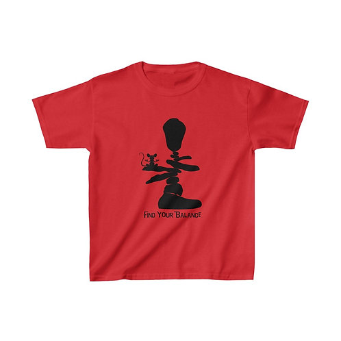 Find Your Balance Kids Heavy Cotton™ Tee