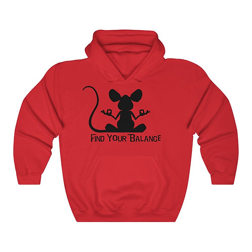 Mouse Balance Unisex Heavy Blend™ Hooded Sweatshirt