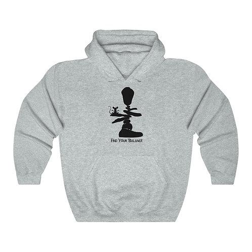 Find Your Balance Unisex Heavy Blend™ Hooded Sweatshirt