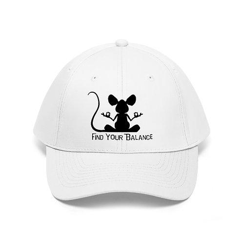 Mouse Balance Unisex Twill Hat