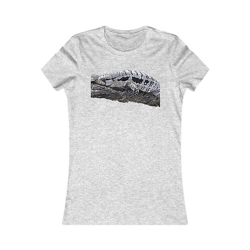 Blizzard Blue Tegu Women's Tee Shirt, Lizard, Reptile,
