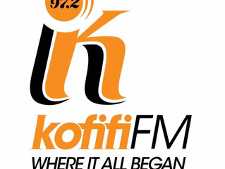 Interview on Kofifi FM at 1pm