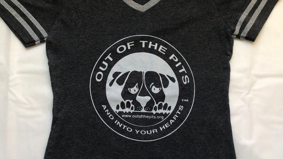 Baseball T-shirt w/logo