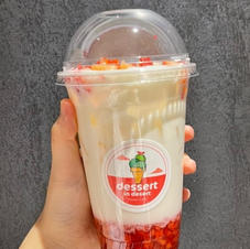 Real Strawberry Latte