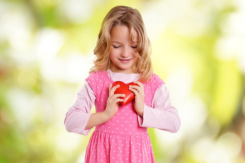 Child-Friendly Give From Your Heart Donation