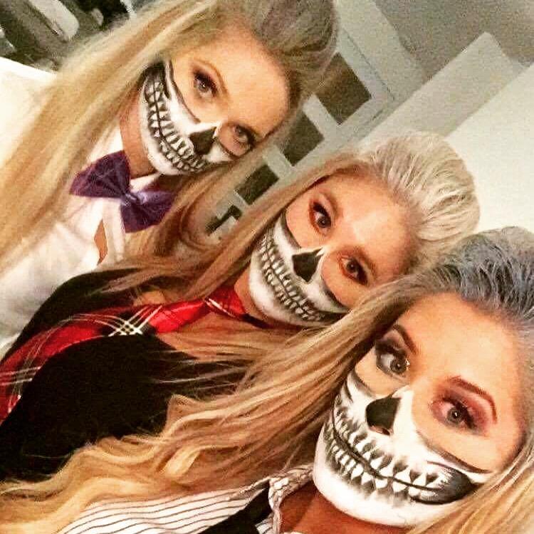 maquillage halloween sugar skull