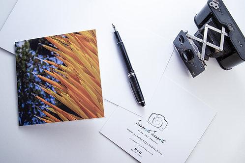 Glass Art - Greeting Card