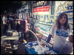 A Likud activist / Elections 2015