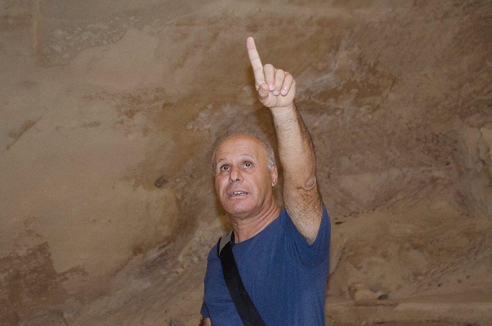 Archeologist Gideo Sulimani