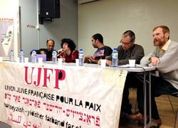 Réunion publique UJFP Paris