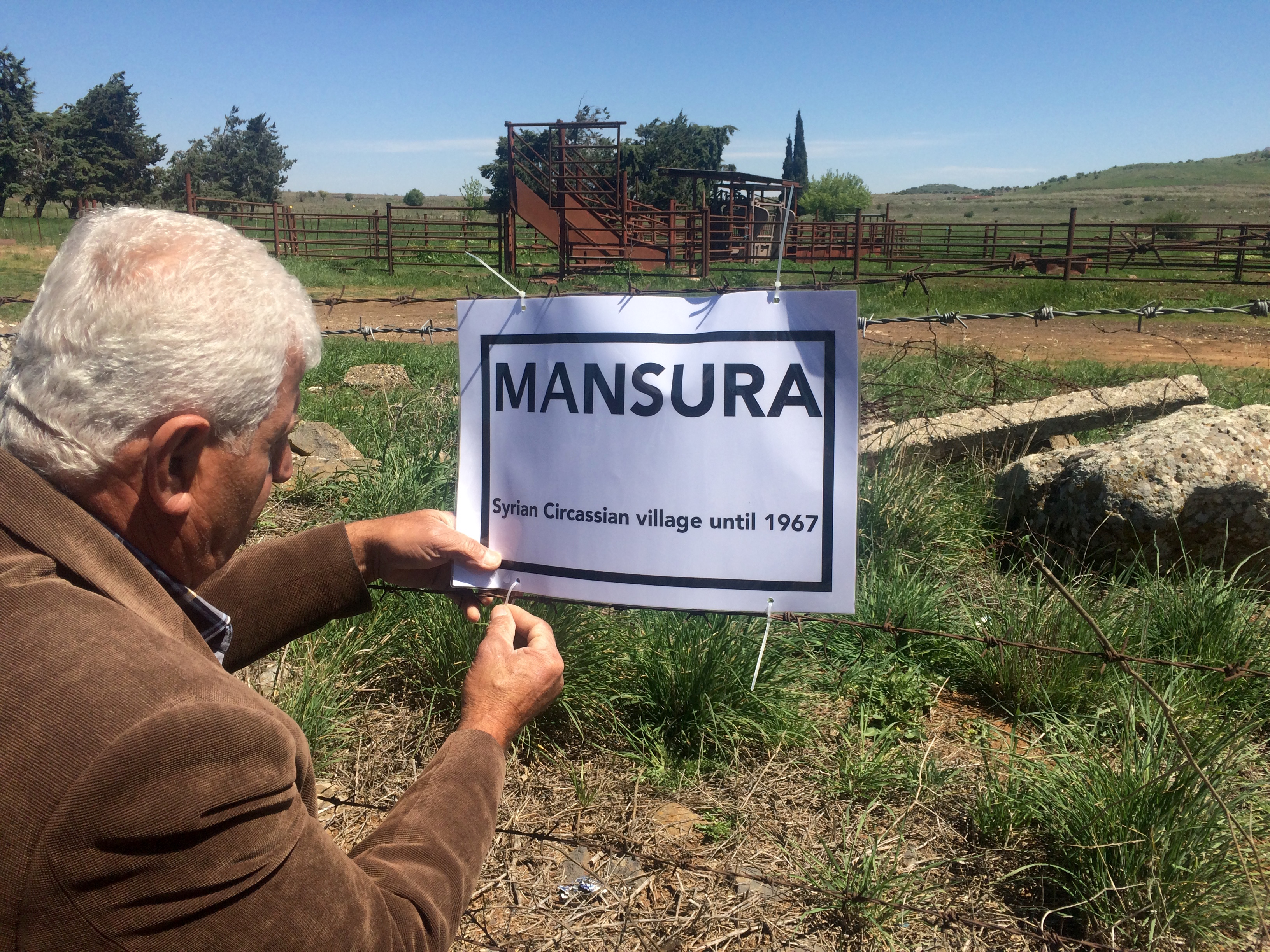 Signing Mansura © De-Colonizer