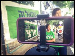 A Meretz activist / Elections 2015