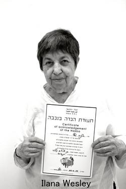 Ilana acknowledges the Nakba.