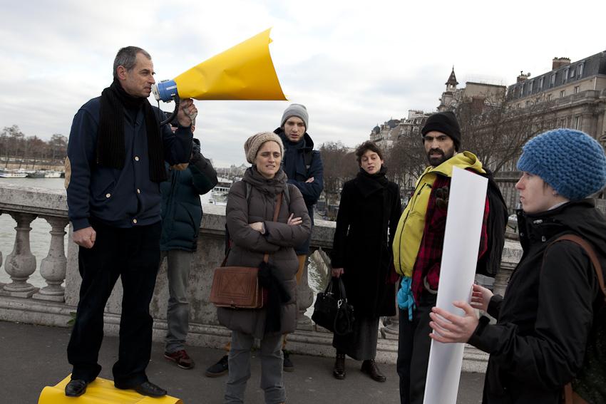 Call for boycott in Paris