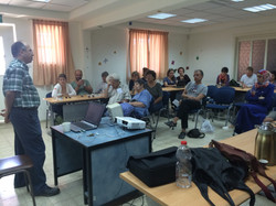 With Prof. Mazin Qumsiyeh