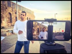 Filming in Manshiyya / Tel Aviv