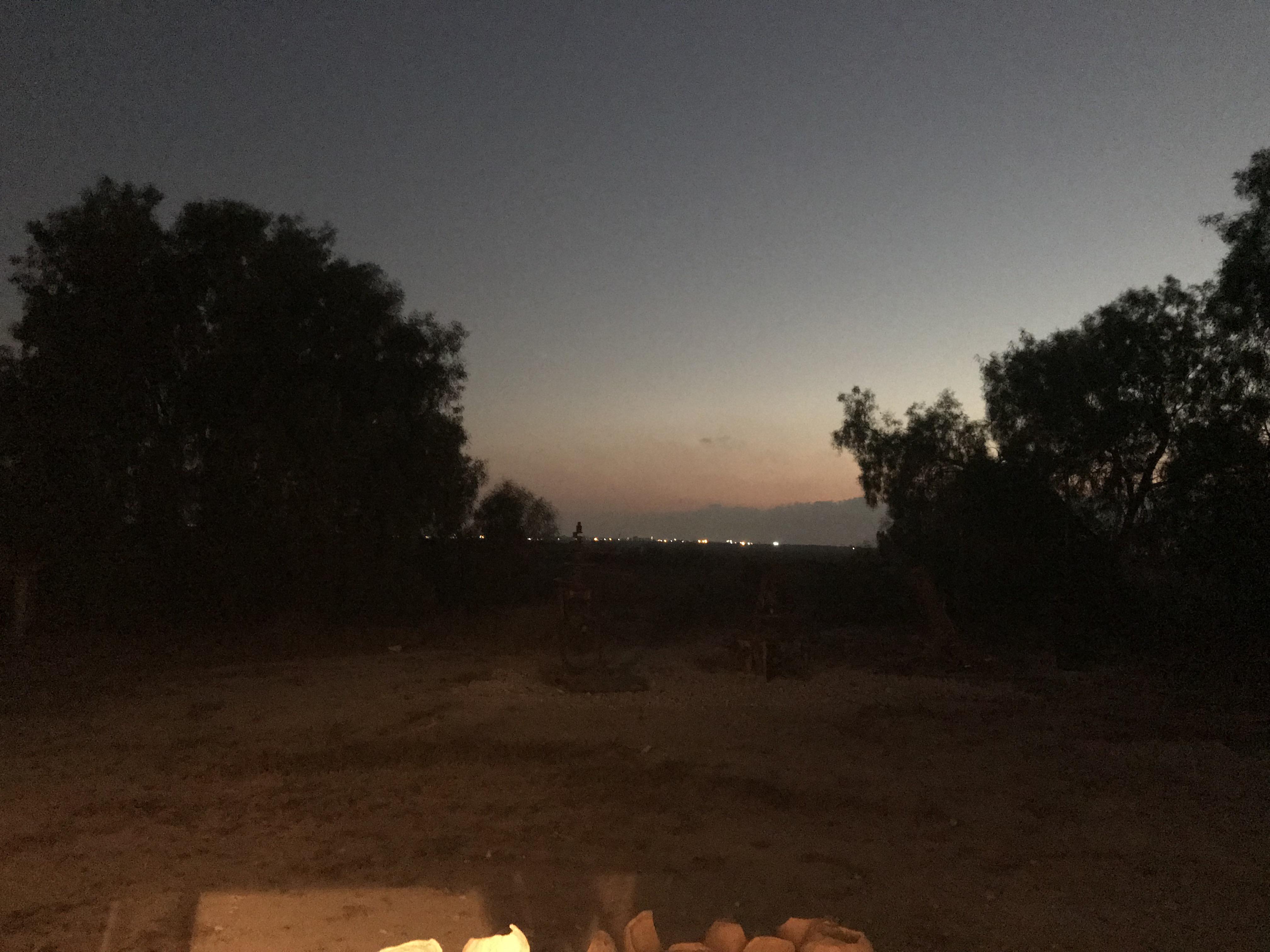 Kuza'a sunset