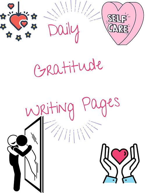 14- Day Gratitude Journal