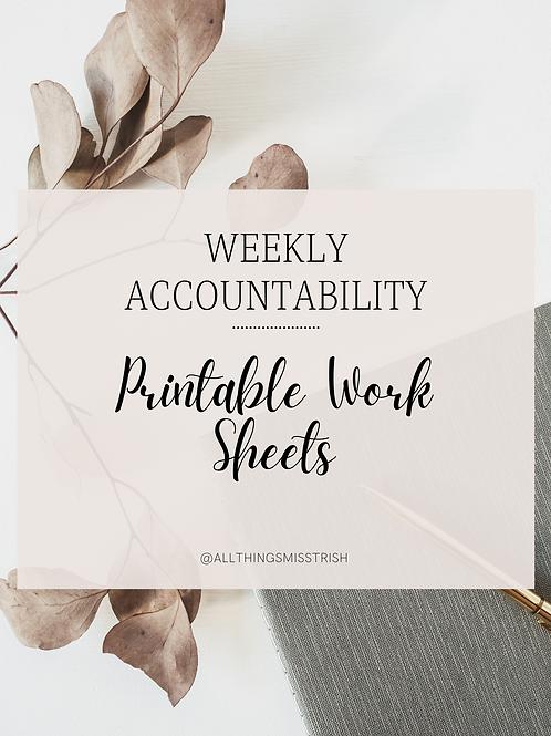 7- Day Accountability Digital Planner