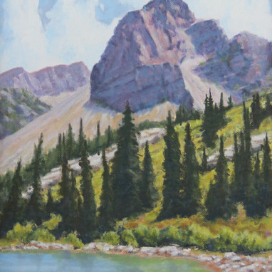 Oil Painting, David A. Jones