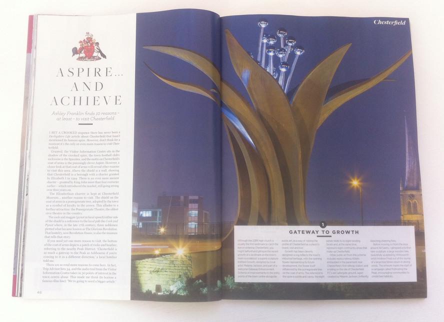 Derbyshire Life - article