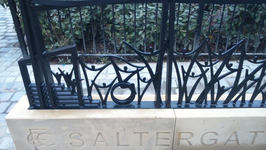 Saltergate - steel work all in