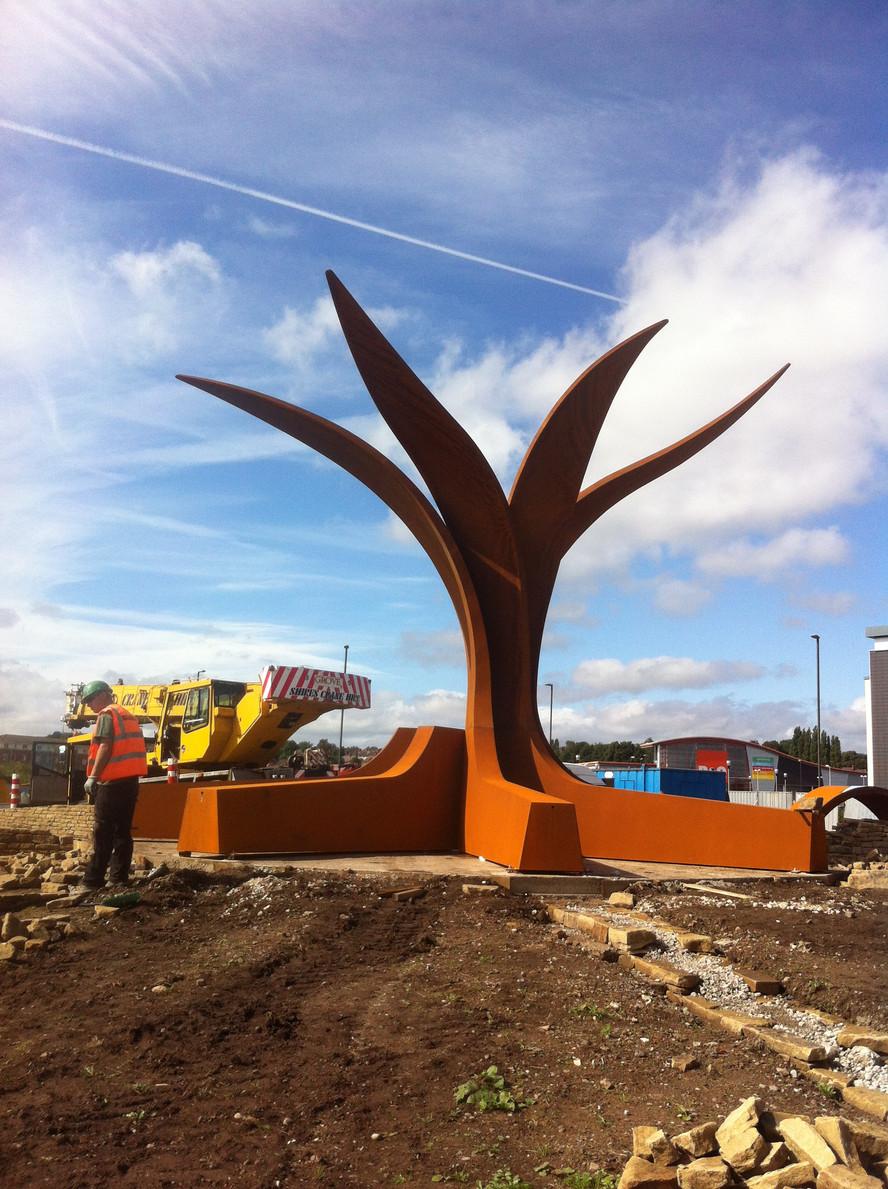 Hornsbridge Island - installation day 2