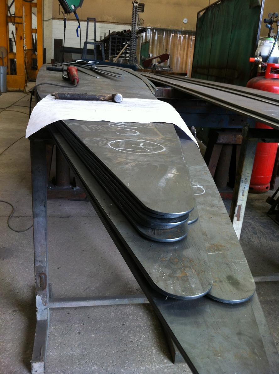 Hornsbridge Island - Steel for sculpture
