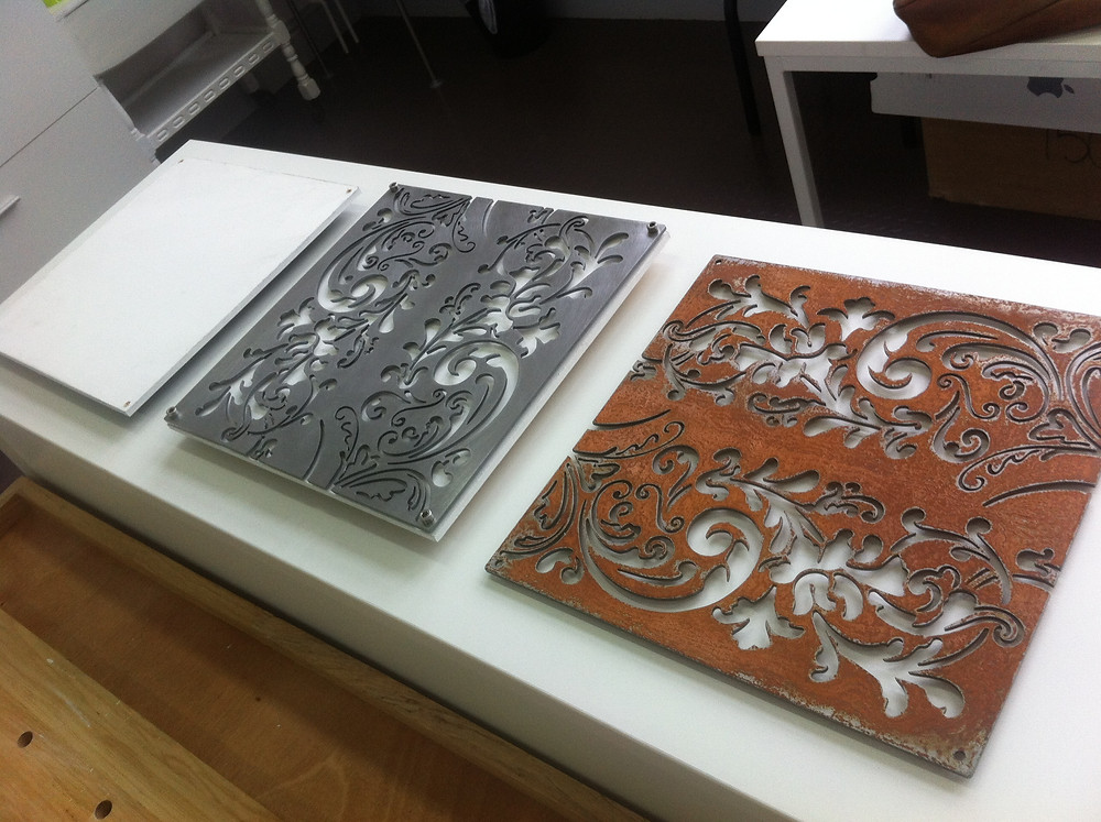 Making of panels for West Studios exhibition.jpg