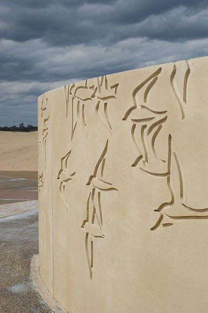 'Sanderlings' Artwork, South Shields, Melanie Jackson