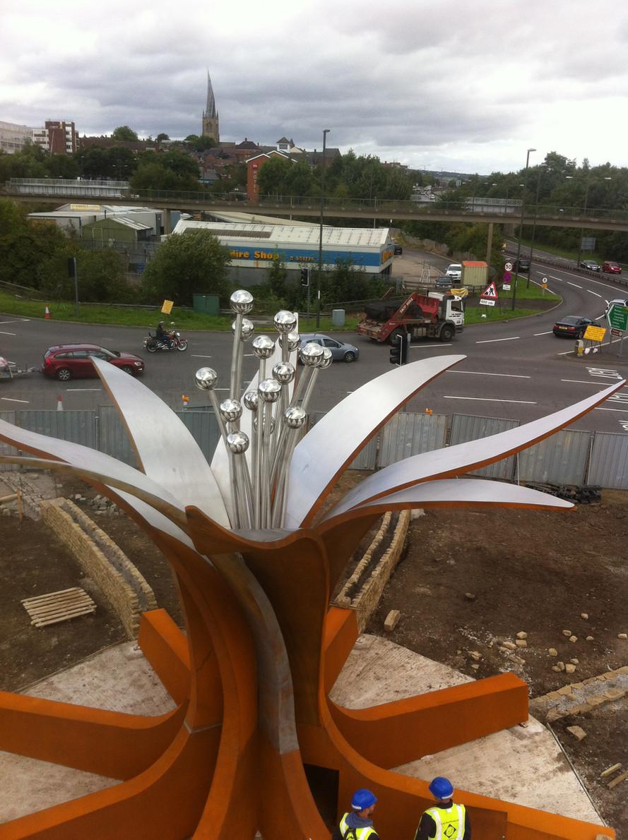 Hornsbridge Island - installation complete