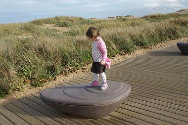 'Mussell' Sculptural Seats, South Shields, Melanie Jackson