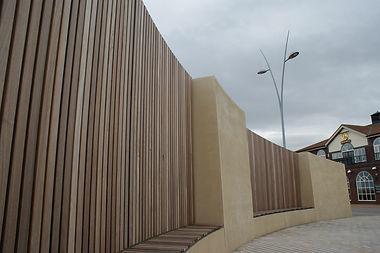 Walls & Seating, South Shields, Melanie Jackson